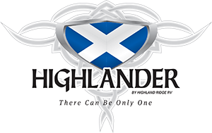 Highlander Travel Trailer Logo